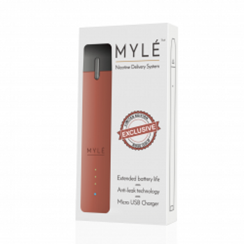 Rose Gold Vape Device by MYLÈ