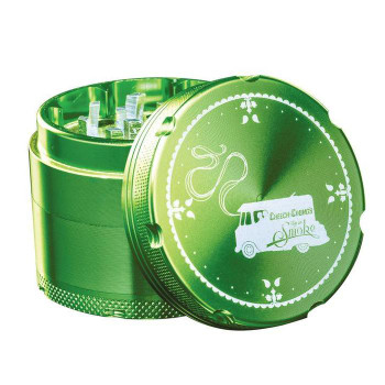 Famous X Cheech & Chong 3 Stage Grinder - Green