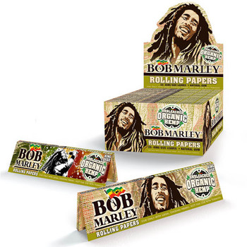 BOB MARLEY UNBLEACHED ORGANIC HEMP King Size Rolling Papers