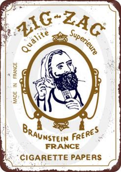 Zig Zag White Original Natural Gum Arabic Cigarette Rolling Papers