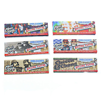 CHEECH & CHONG 1 1/4 UNBLEACHED ROLLING PAPERS