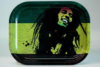 Bob Marley Rolling Tray 7X5.5