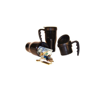 COFFEE MUG DIVERSION SAFE BLACK
