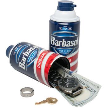 FAKE BARBASOL SHAVING CREAM SECRET STASH DIVERSION CAN SAFE
