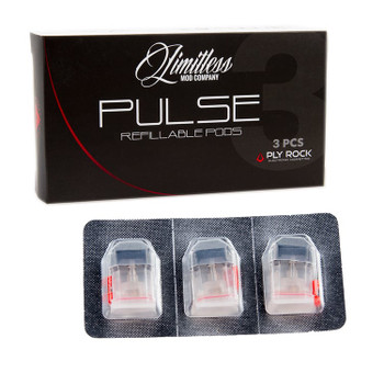 Limitless LMC Pulse Ply Rock Refillable Pods – Pack of 3