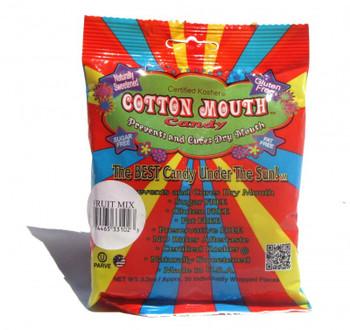Cotton Mouth Candy Fruit Mix Bag 3.3 Ounce