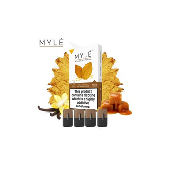 Myle Replacement Pods by Myle Vapor (4pcs) ( SWEET TOBACCO )