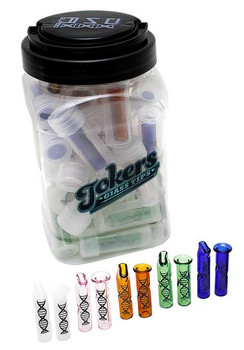 Tokers Colored Glass Tips