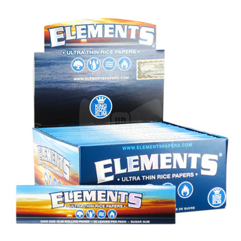 Elements Ultra Thin King Size Slim Rolling Papers