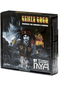 MYA Genie Coco Premium Charcoals 16 Piece