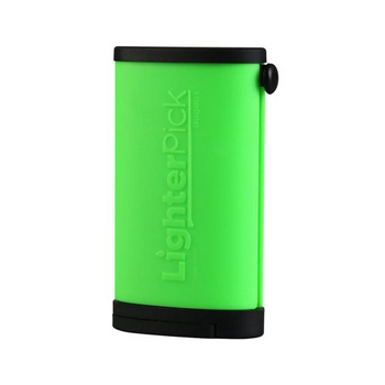 LighterPick All-In-One Waterproof Smoking Tool - GREEN