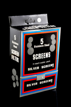 Smoking Silver Stainless Steel Screens Screen Filters