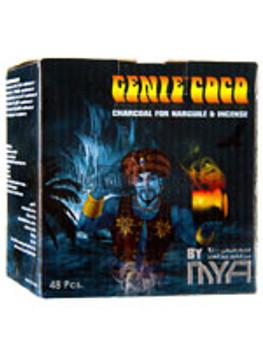 MYA Genie Coco Premium Charcoals 48 Piece
