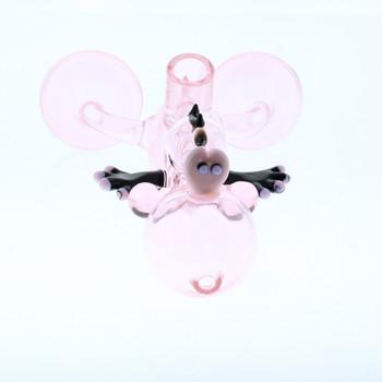 "7"" YOSHI GLASS BONG - PINK"