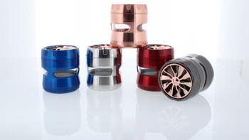 Double Cross Titanium Grinder W/ Wheel