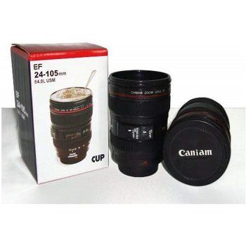 LenZcup Replica Canon 24-105mm f/4L IS USM Lens Thermo Cup (Black)