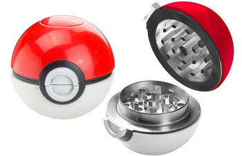 Pokemon Pokeball Grinder For Herbs and Spices