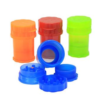55mm 4 Part Plastic Grinder with Storage