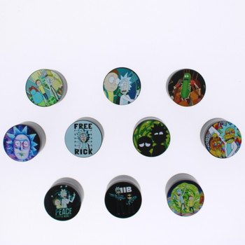 4 Level 40mm Rick and Morty Grinder