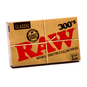 RAW 300S CLASSIC 1 1/4 ROLLING PAPERS