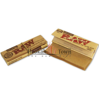 RAW Connoisseur King Size Slim Hemp Rolling Papers with Filter Tips