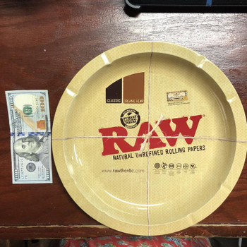 Raw - Round Rolling Tray Small 12 X 12