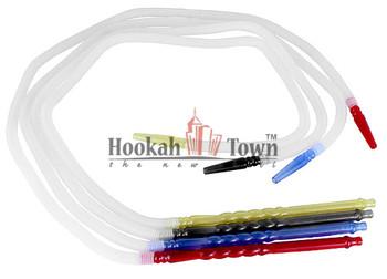 """NuHose Healthy Hookah Hose 62"""" :3 Pack"""
