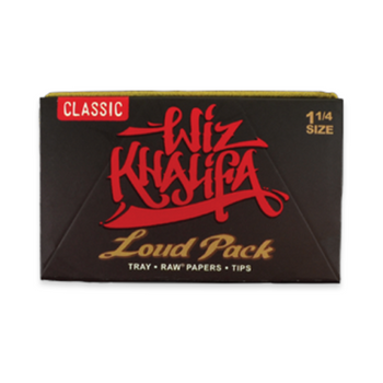 WIZ KHALIFA X RAW LOUD PACK KING SIZE ROLLING PAPERS