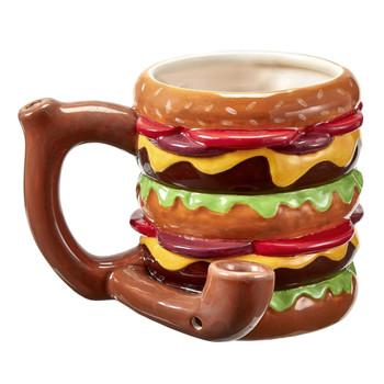 Roast & Toast Mug - Cheeseburger