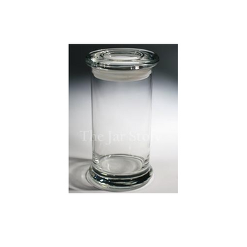 20oz. ELITE, Jar w/Flat Glass Lid