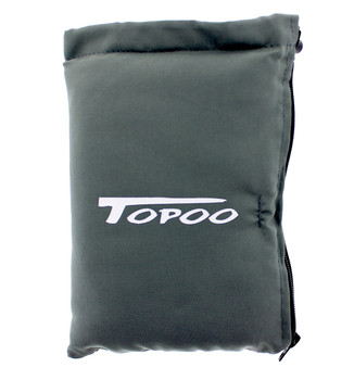 TOPOO FOLDED PADED ZIPPER CASE