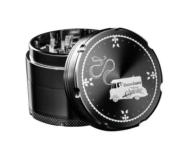 Famous X Cheech & Chong 3 Stage Grinder -( Black)