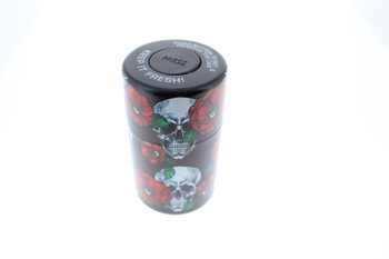 Skull Tobacco Cigarette Storage Container Box 6 Styles Moisture Proof Cans