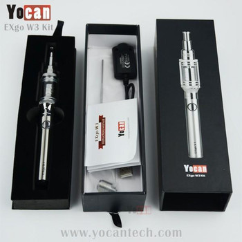 Yocan EXgo W3 Kit (Wax) with Nero Coil and Variable Voltage V1 Battery