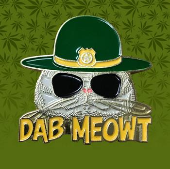 DAB MEOWT HAT PIN