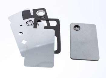 Sharp Card Grinders Magnetic Metal Card