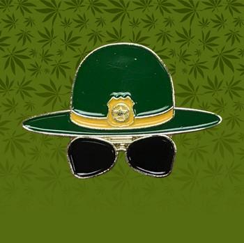 Super Troopers Trooper Hat Pin