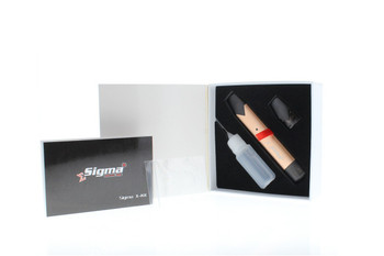 SIGMA-X POD DEVICE FOR THICK OIL AND SALT INFUSED NIC E-LIQUID - Gold