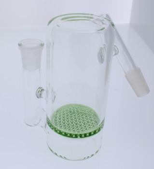 Green Honeycomb Perc Ash Catcher