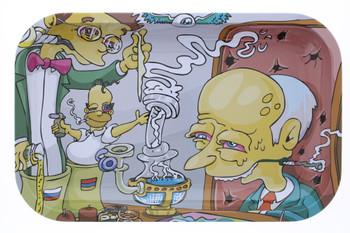 Simpsons Large Rolling Tray 7 x 11