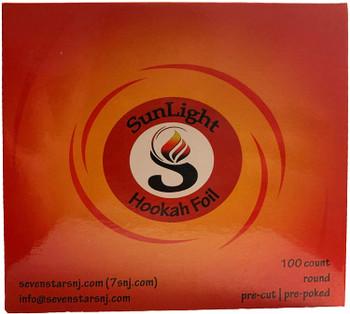 SunLight Hookah Foil 100ct