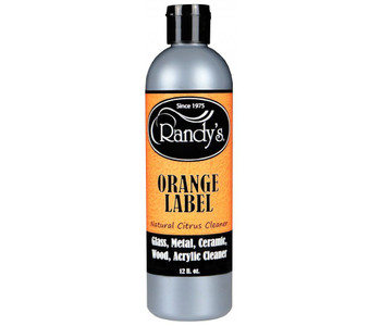 Randy's Orange Label Natural Citrus Cleaner: Glass, Metal, Ceramic, Wood, Acrylic Cleaner 12 Fl oz