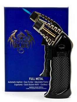 Special Blue Professional BLACK Torch - Full Metal