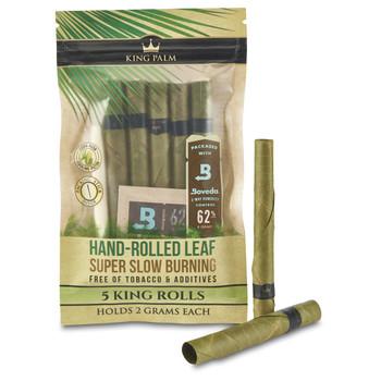King Palm - Rollies (0.5 grams) Cordia Leaf Roll - 5 Rolls