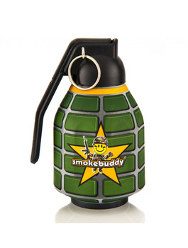 The Original Smokebuddy Personal Air Odor Purifier with keychain - Grenade