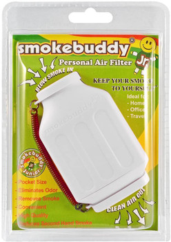 SmokeBuddy Jr Personal Smoke Air Filter - White