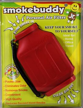 SmokeBuddy Jr Personal Smoke Air Filter - Red
