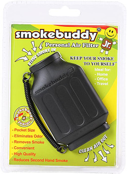SmokeBuddy Jr Personal Smoke Air Filter - Black