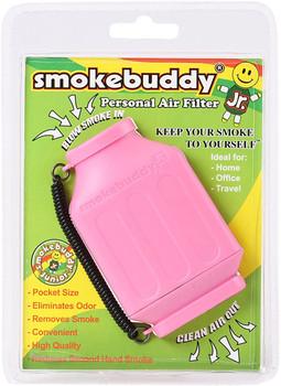 SmokeBuddy Jr Personal Smoke Air Filter - Pink
