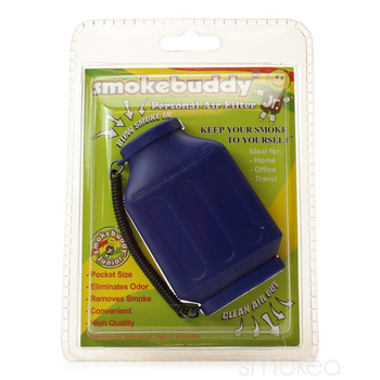 SmokeBuddy Jr Personal Smoke Air Filter - Dark Blue